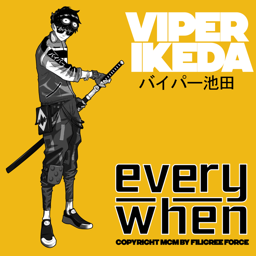 Viper Ikeda | Commission by Pino44io