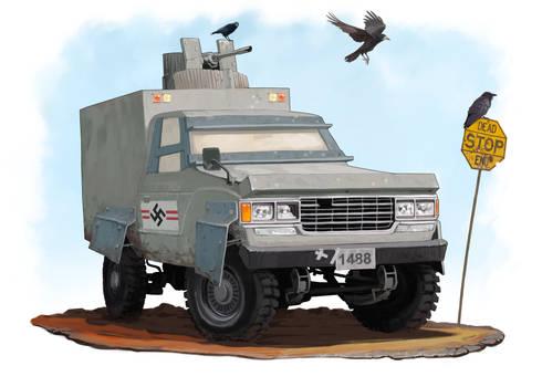 Ersatz IFV Gun Truck - Amerikan Reich | Commission