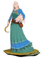 Ernalda Earth Priestess | Commission by Pino44io