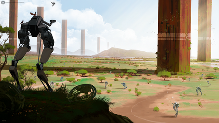 Ostrich Plains | Commission