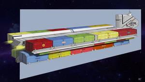 Cargo Spaceship | Commission