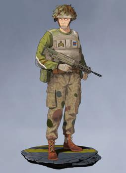 Batus Staff Corporal | Commission