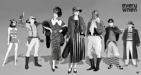 Pulp characters | Commission