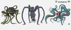 Vir Creatures Concepts   Commission