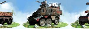 Postapocalyptic Vehicles. Set 7   Commission