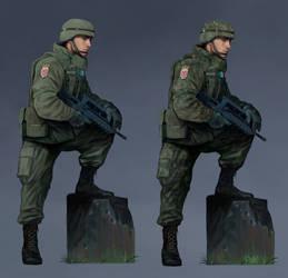 Soldier Uniform | Commission