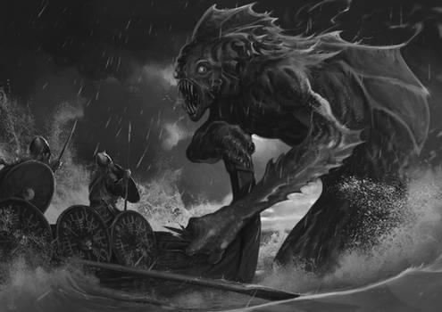 Attack of Dagon | Commission