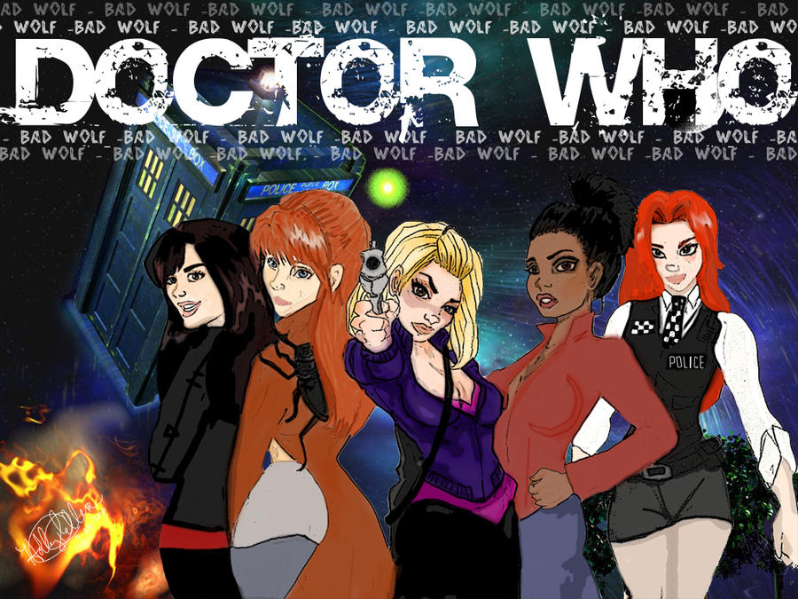 Women of the Who-niverse by tonksiford