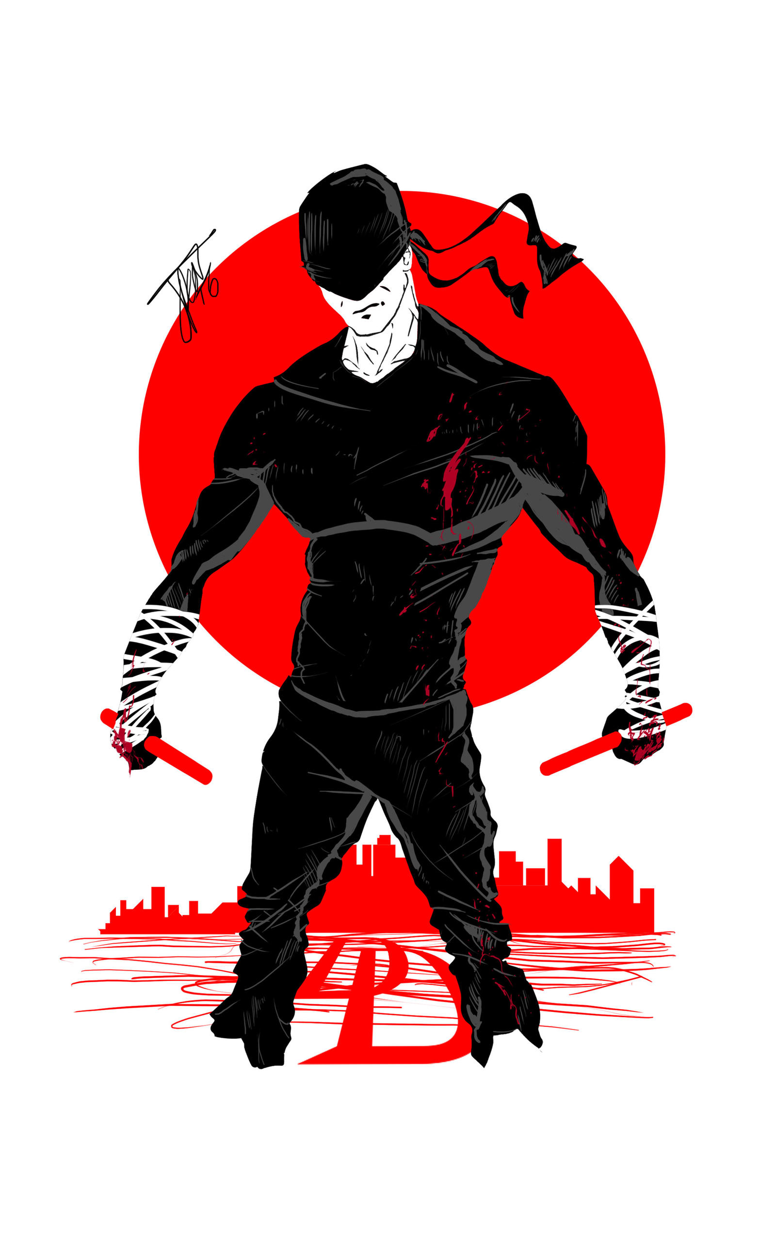 Hells Kitchen Daredevil