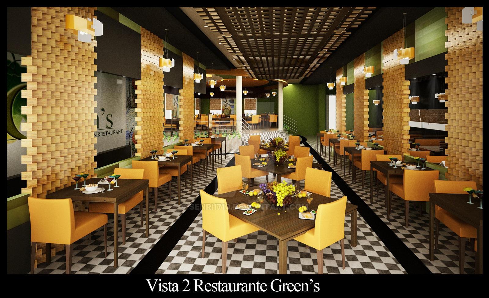 Vegetarian restaurant by senri on deviantart