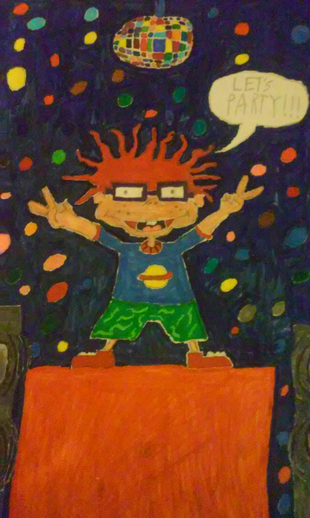 Chuckie Finster (From Rugrats) by SunSoldierDavid on ...
