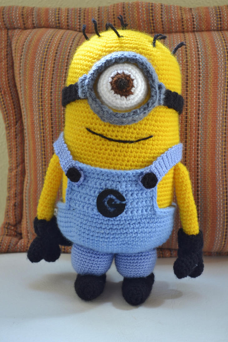 Amigurumi Minion Tarifi : Amigurumi Minion by gengibrecroche on DeviantArt