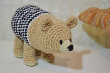 Artesanatos: Faça e Venda: Amigurumi urso com receita | 250x375