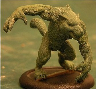 miniature werewolf near London by snuurg