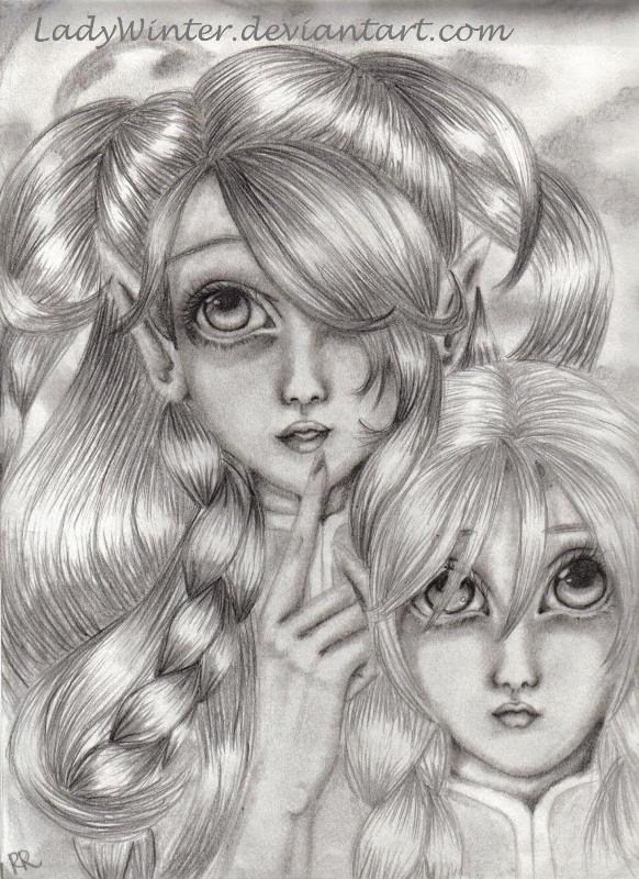 Sister's Secret by LadyWinter