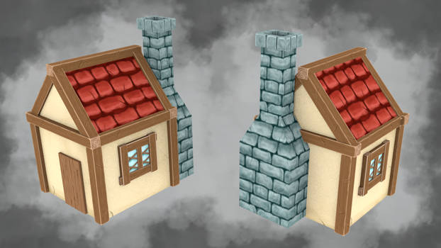 Handpainted House