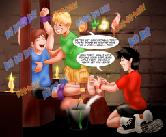Toby's fun time by TickleToby
