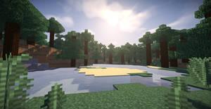 Minecraft Green Forest