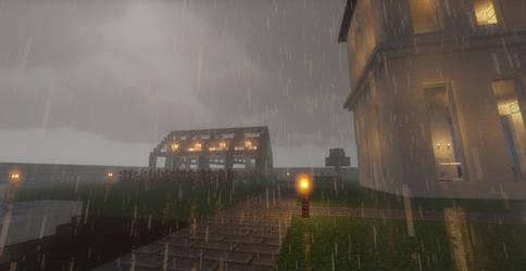 Rain in my yard