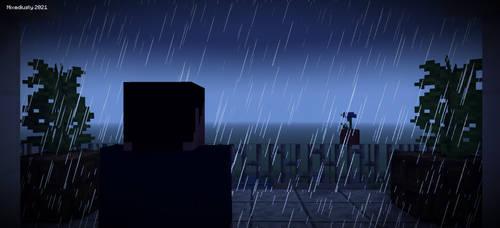 Rain by latutart