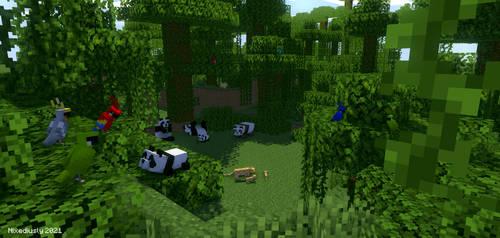 Jungle biome by latutart