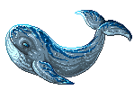 Whale Pixel by Knask