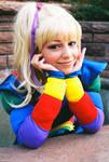 Classic Rainbow Brite Pose