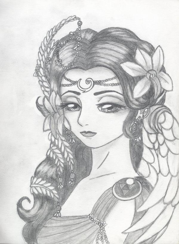Goddess Farore V2 0 By Akuriko On Deviantart