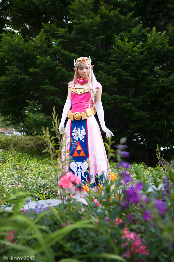 Toon Zelda at Fanime 2010 by akuriko