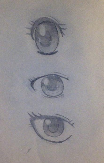 The Seeing Anime Eyes by BlackDragona