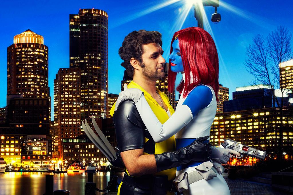 Dangerous love. Xmen Love. Wolverine and Mystique by MarinaReIkO