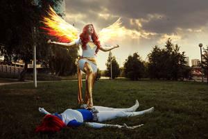 Mystique and Phoenix
