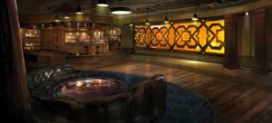 Interior Home Bar Concept