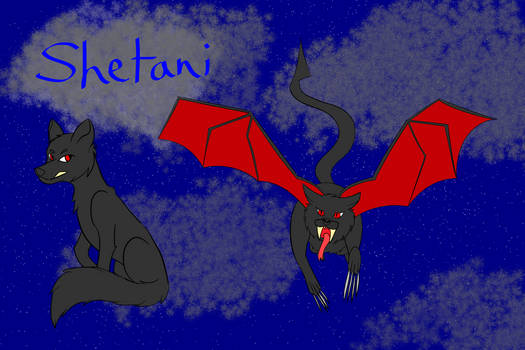 2nd of Inktober: Shetani!