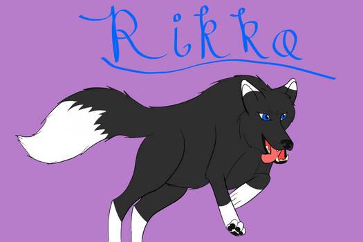 3rd of Inktober: Rikka!