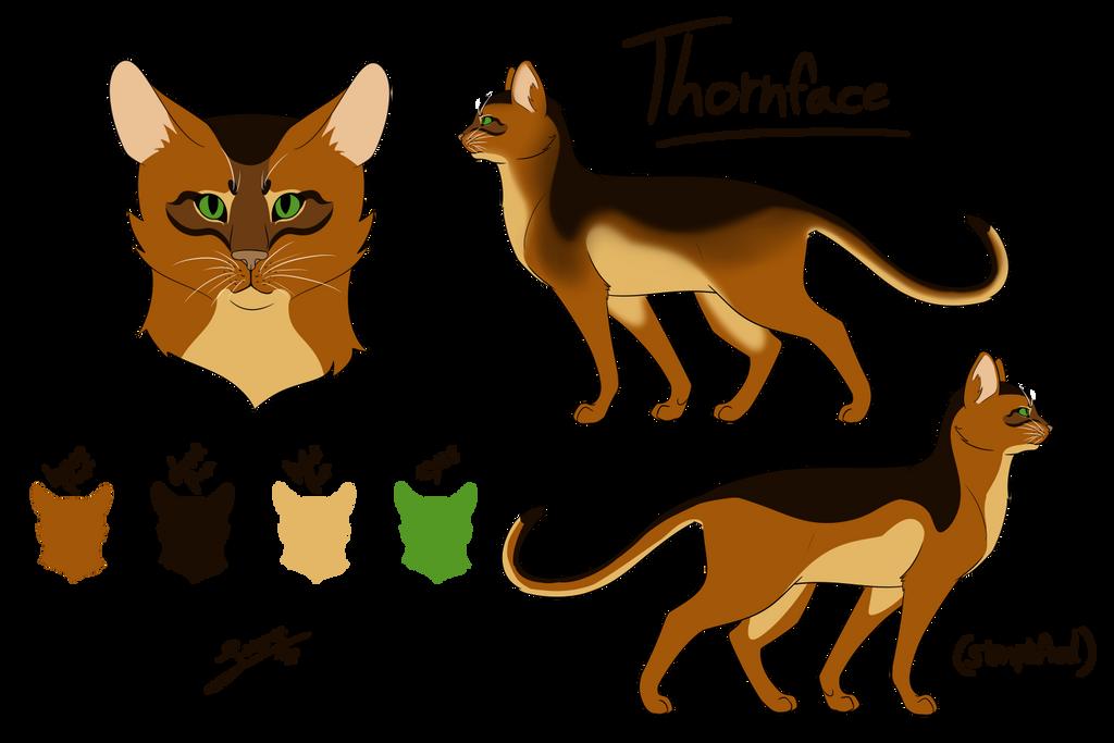 Thornface Reference Sheet by DexterHorse