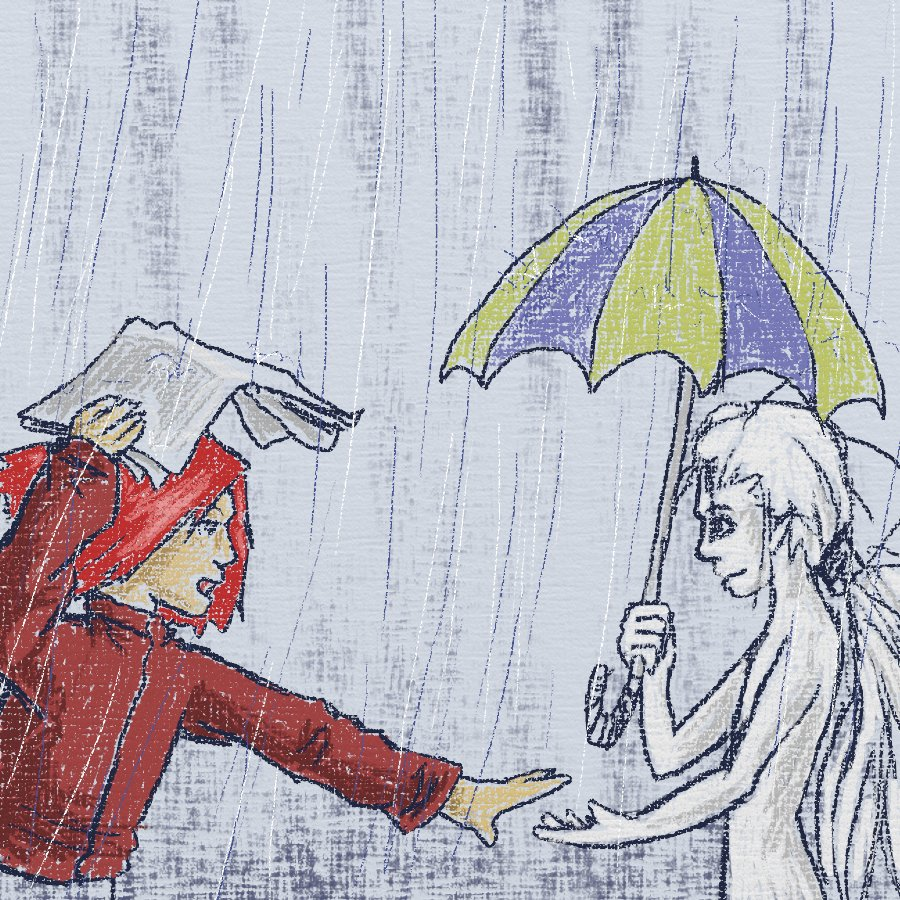 come under the umbrella by Kampfkewob