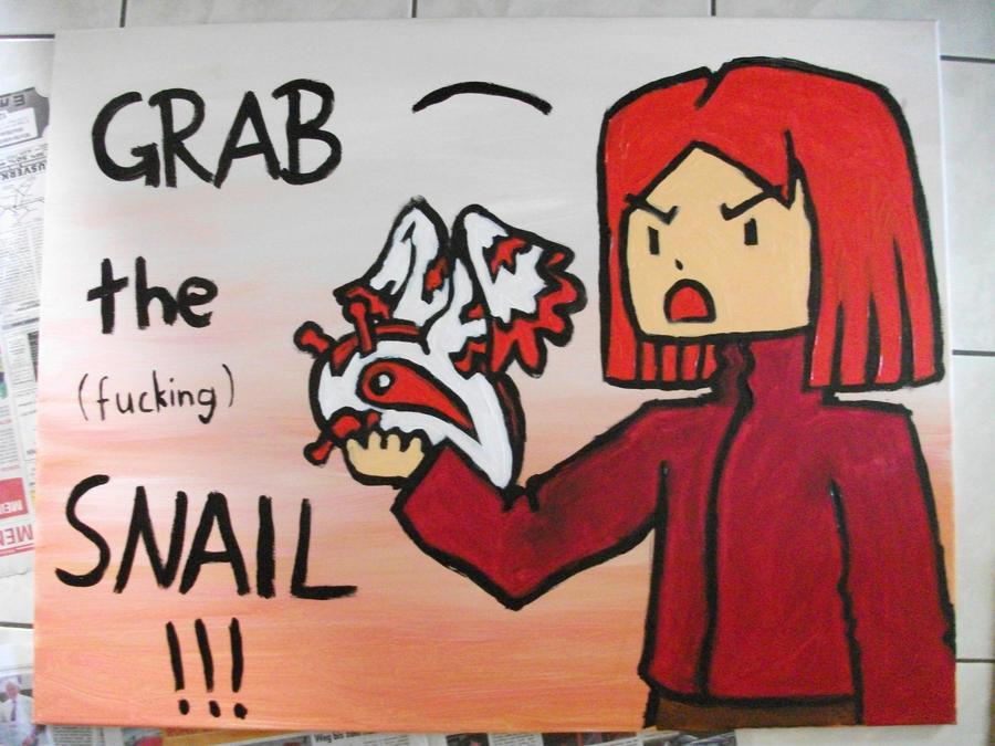 Grab the Snail by Kampfkewob