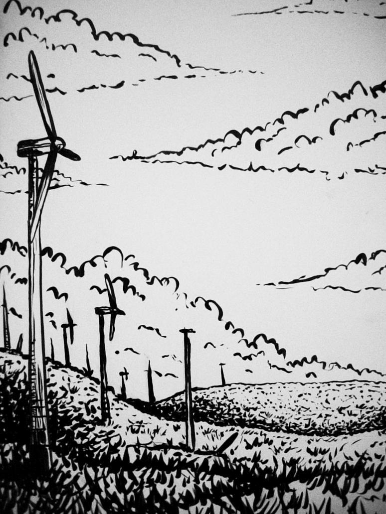 landscape 1 by Kampfkewob