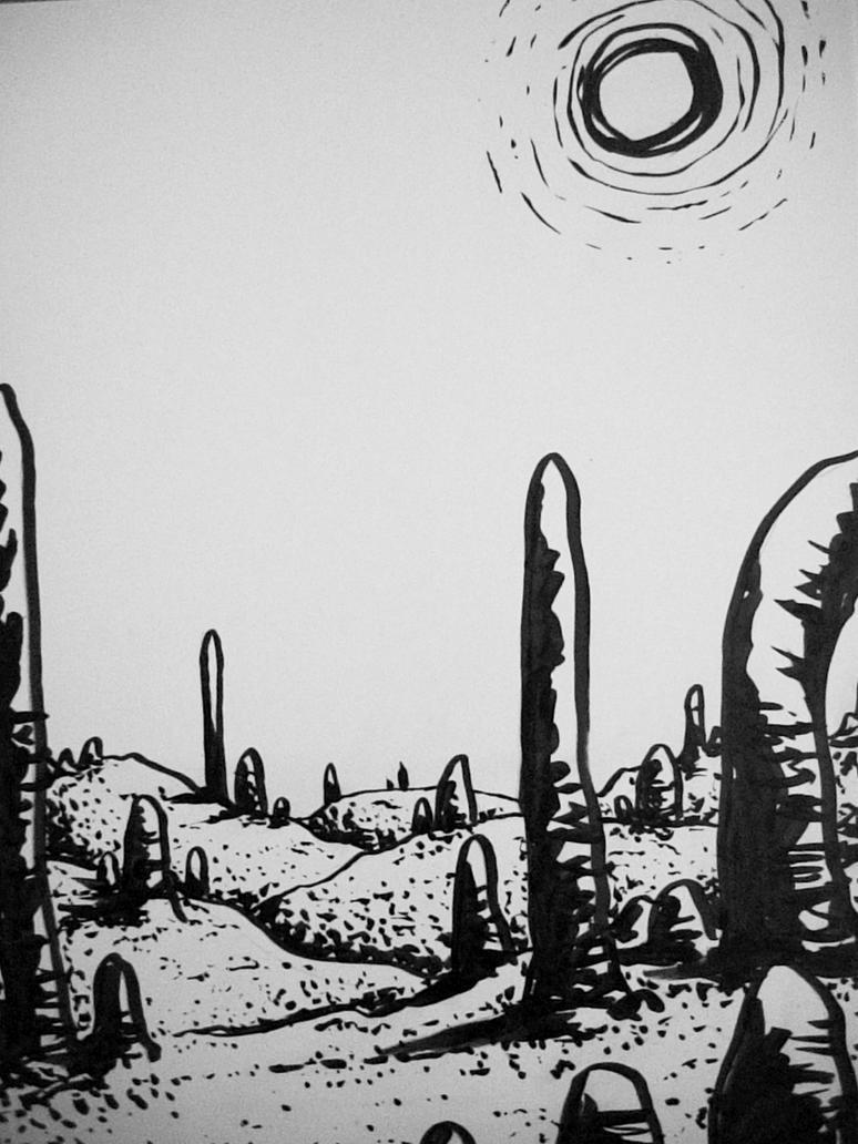 landscape 2 by Kampfkewob
