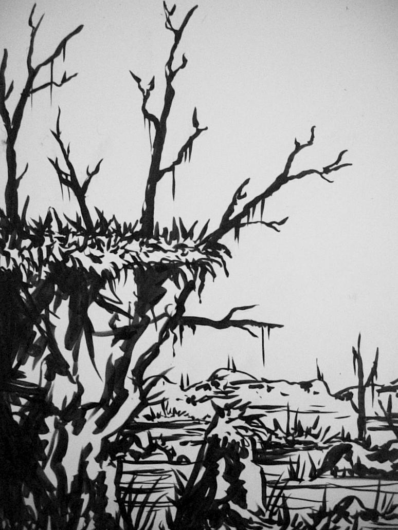 landscape 3 by Kampfkewob