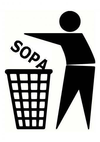 Stop SOPA by Kampfkewob
