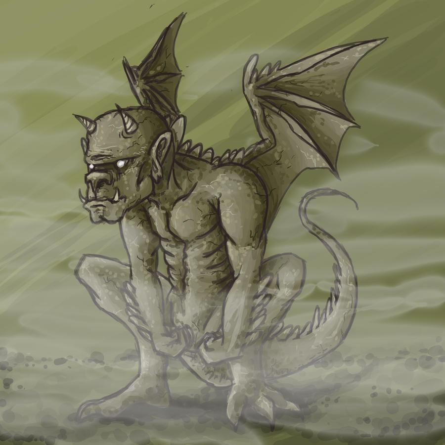 Gargoyle by Kampfkewob