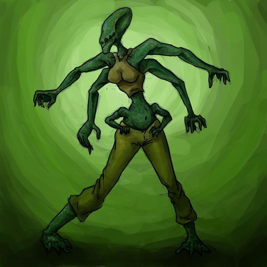 Alien by Kampfkewob