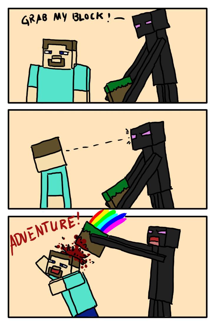 Minecraft Adventure Mode by Kampfkewob