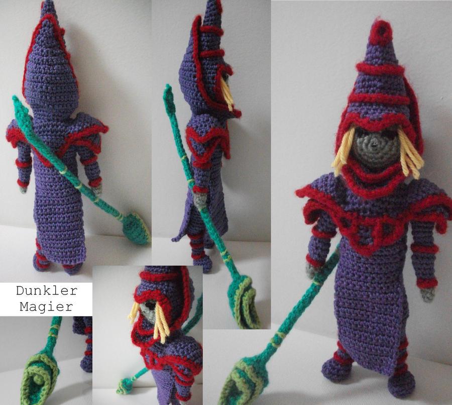 Dark Magician doll by Kampfkewob