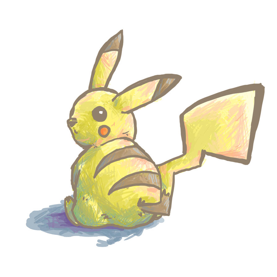 Pikachu by Kampfkewob
