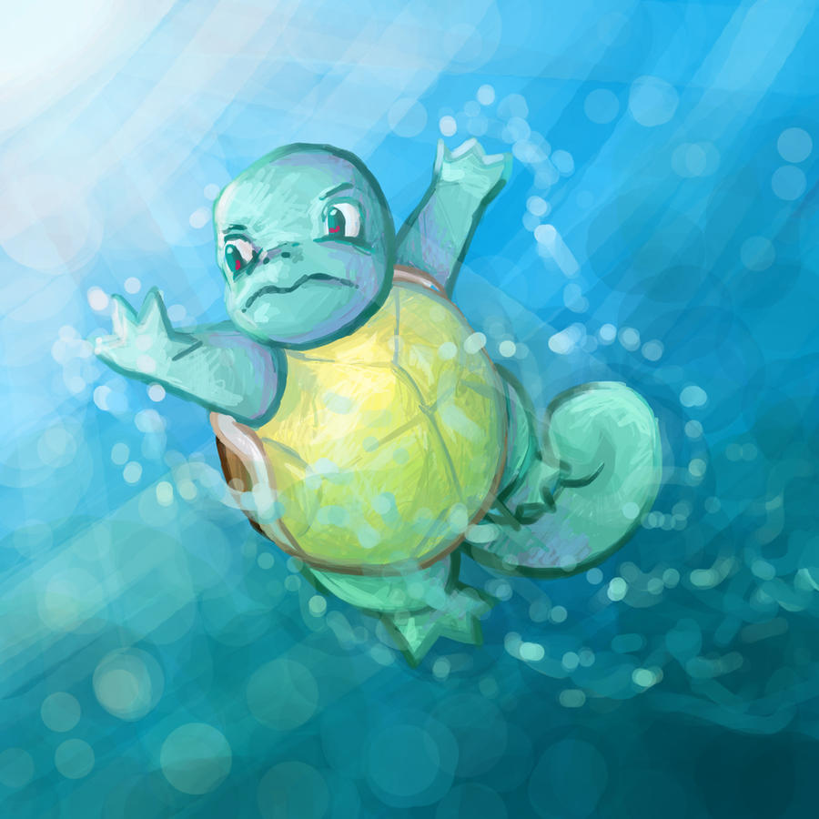 Squirtle by Kampfkewob
