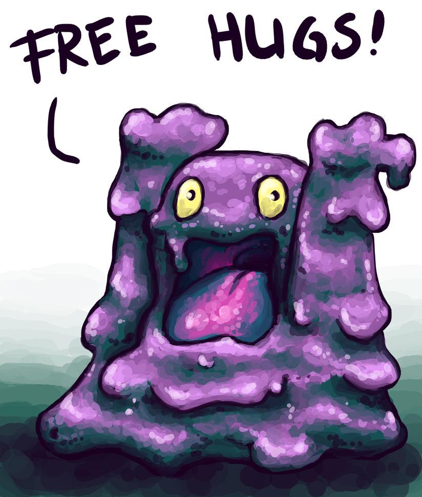 Free Hugs Grimer by Kampfkewob