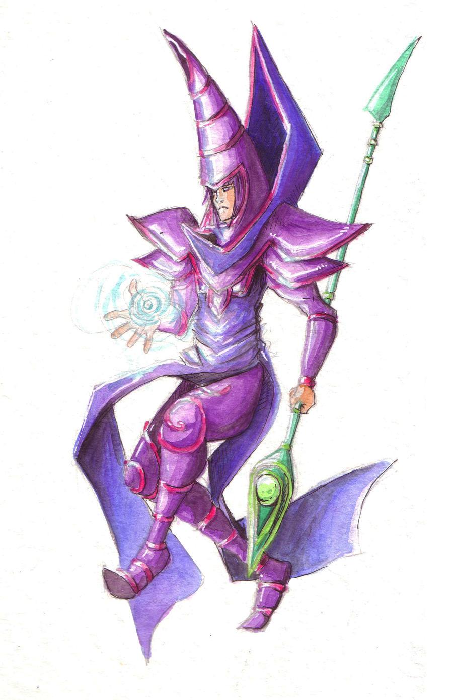 Dark Magician by Kampfkewob